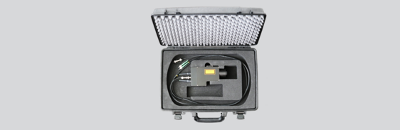 [Translate to Chinesisch:] Transport Case Autofocus Fiber Head