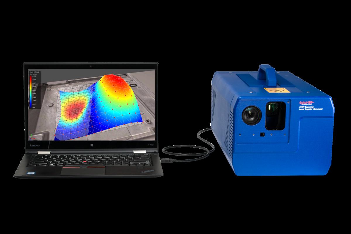 레이저 진동계 측정 및 데이터 수집 소프트웨어