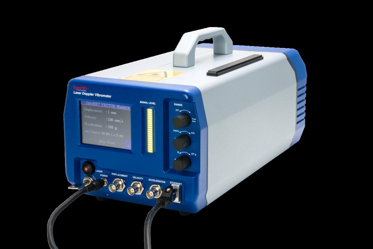 [Translate to Japanisch:] Laser Vibrometer Ethernet connection