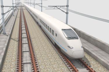 Eisenbahn Schienen Schwingungen messen