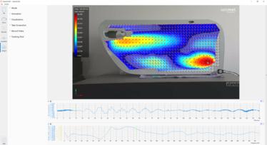 [Translate to Koreanisch:] Modal analysis surface vibration