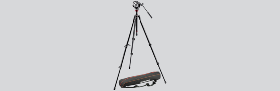 [Translate to Chinesisch:] Laser Vibrometer Tripod with Fluid Head