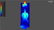 小提琴的表面掃描