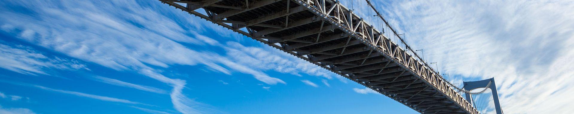 [Translate to Japanisch:] vibration large bridge