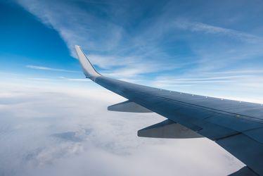 Вибрация крыльев самолета